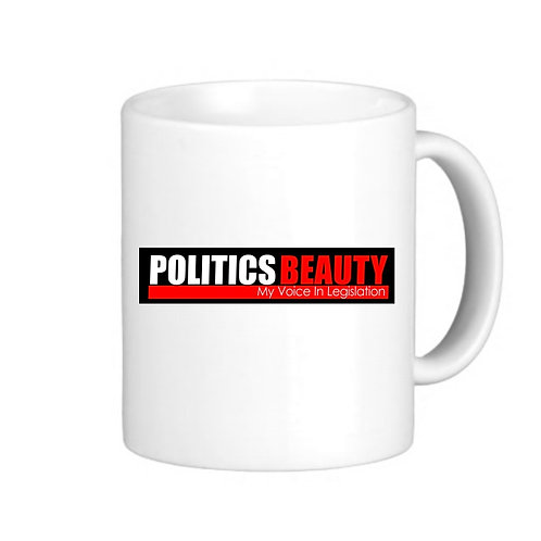 "Politics Beauty ""Signature Mug"""