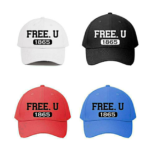"""""""Free.U"""" Snapbacks"""