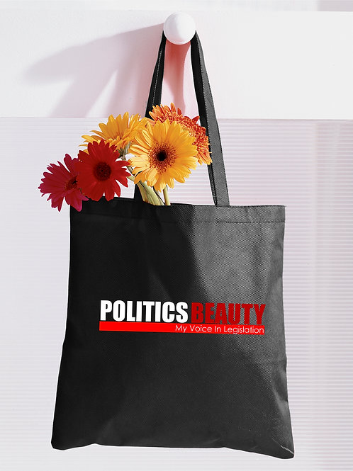 "Politics Beauty ""Classic"" Everyday Tote"