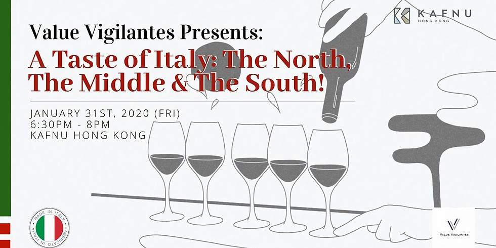 A Taste of Italy: The North, The Middle & The South!
