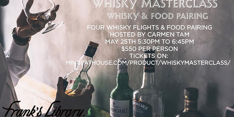 Whisky Masterclass X Frank's Library