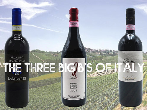 The three Big B's of Italy