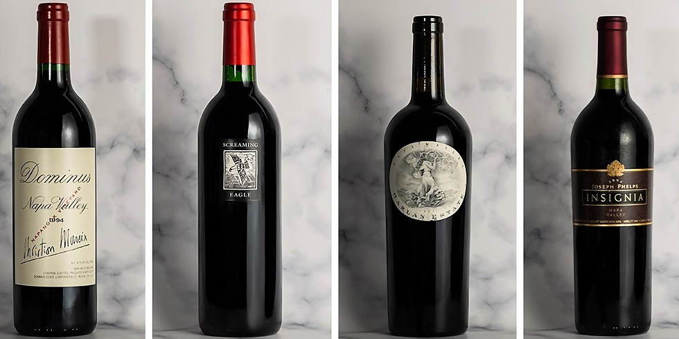 1994 Napa Cabernets - 25 Years On Dinners (HK)