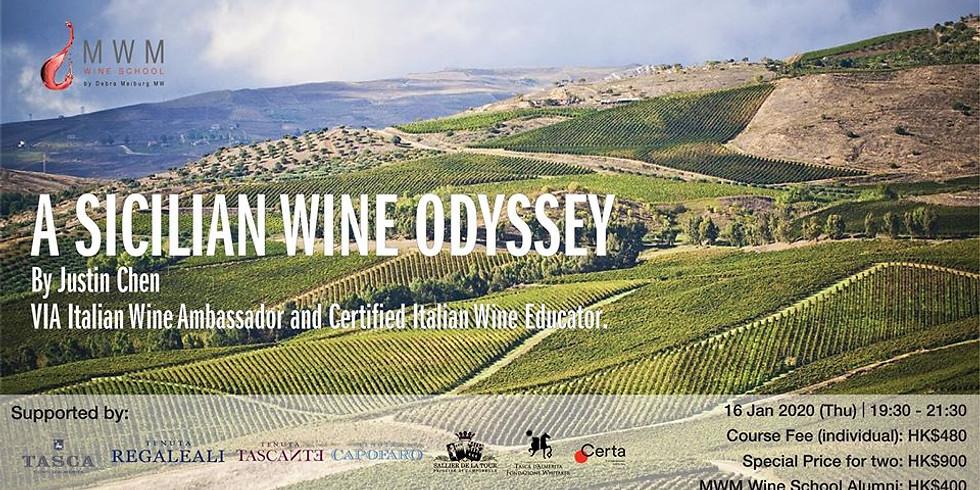 A Sicilian Wine Odyssey
