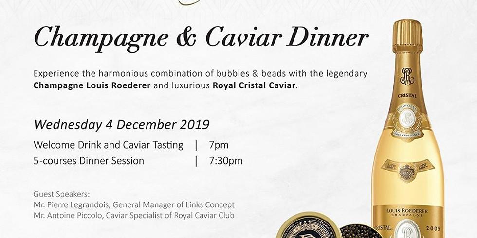 Champagne & Caviar Dinner