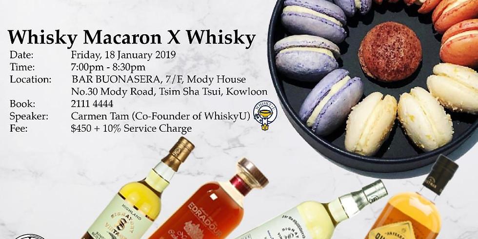 Whisky Macaron X Whisky
