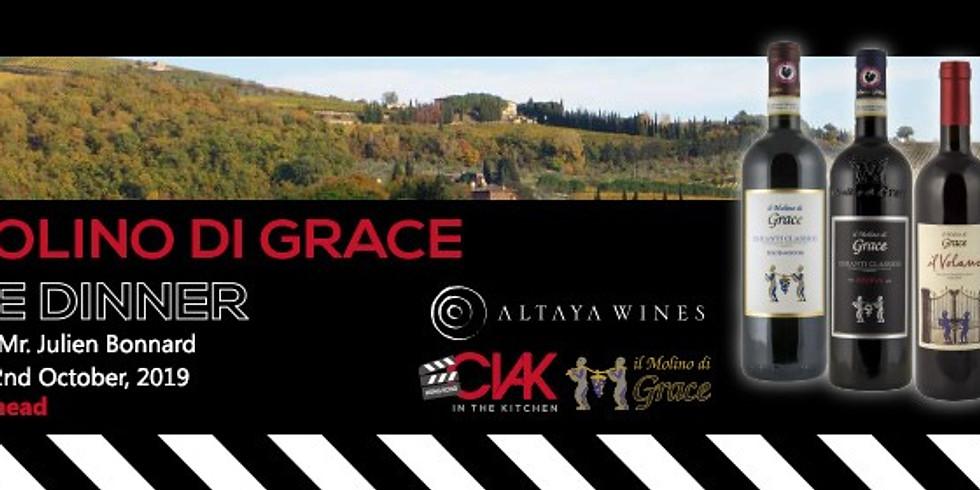 Il Molino di Grace Wine Dinner at CIAK