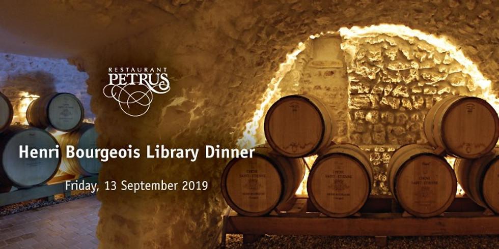 Henri Bourgeois Library Dinner
