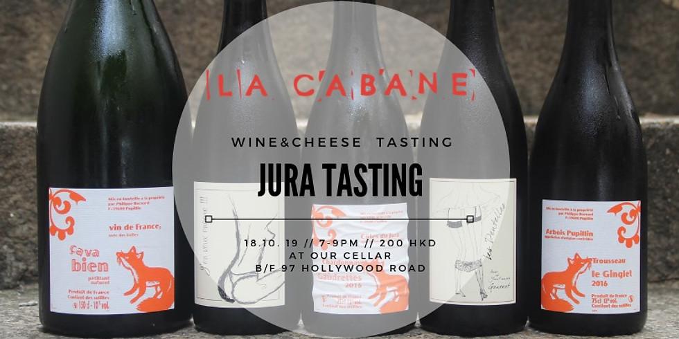 Jura Tasting [wine & cheese]