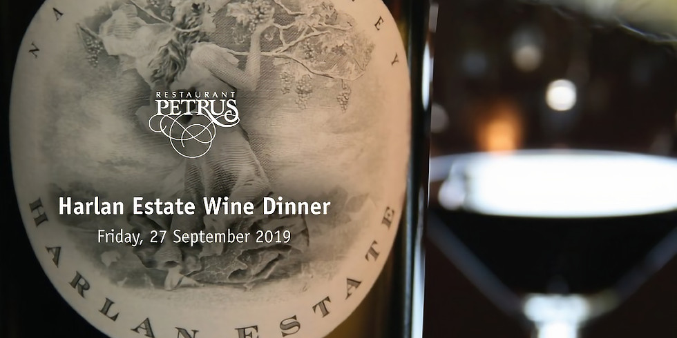 Harlan Estate Wine Dinner