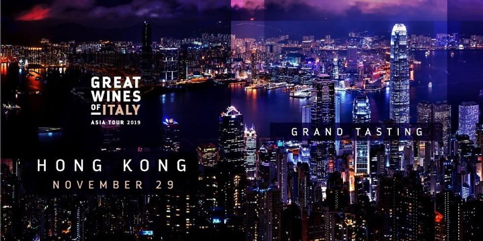 Great Wines of Italy - The Grand Tasting Hong Kong 2019
