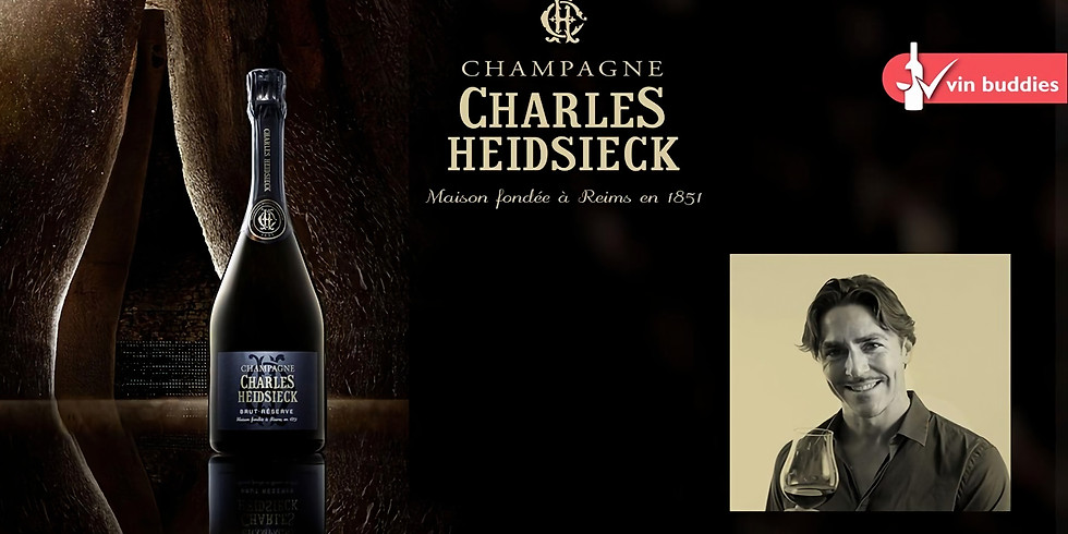 Charles Heidsieck Tasting - Curated by Ned Goodwin MW