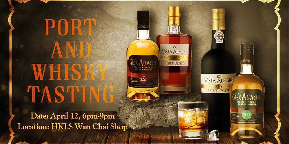 Port and Whisky Tasting