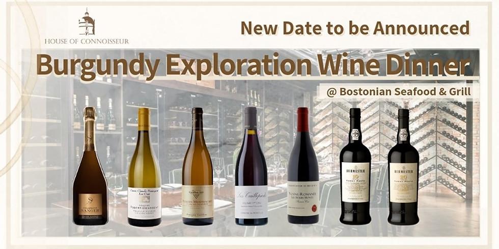 Burgundy Exploration Wine Dinner