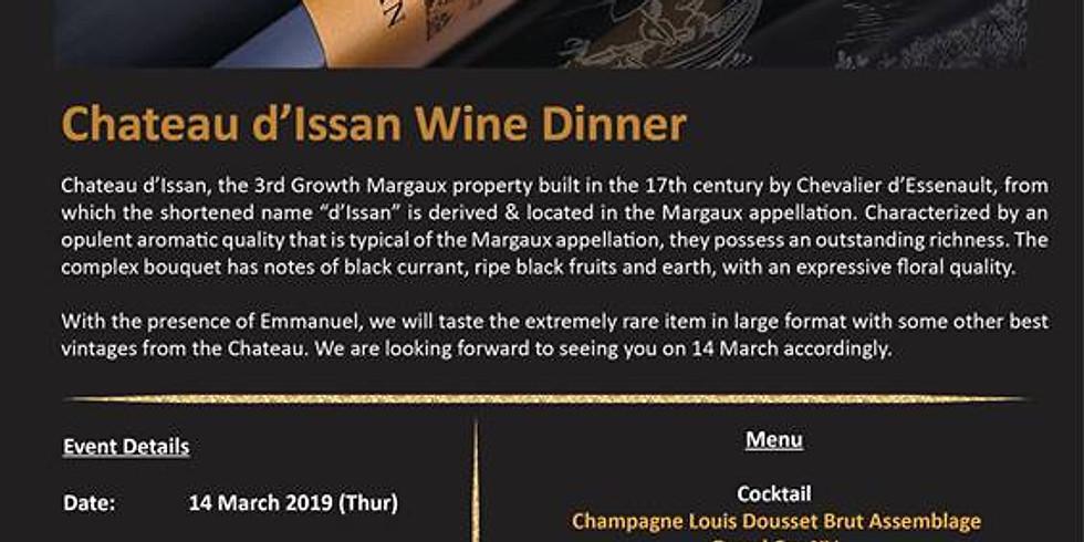 Chateau D'issan Wine dinner @ Grand Hyatt Steakhouse