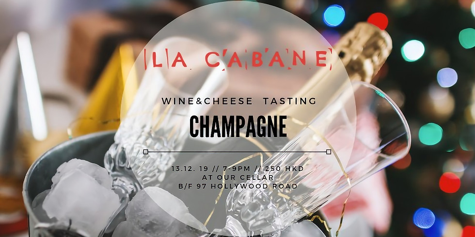 Champagne, baby [wine and cheese tasting]