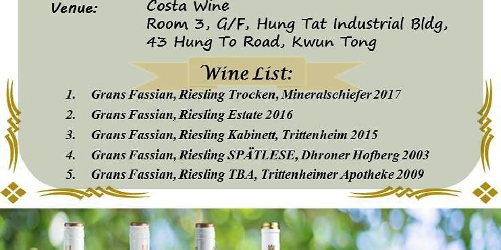 Grans Fassian Wine Tasting@Costa