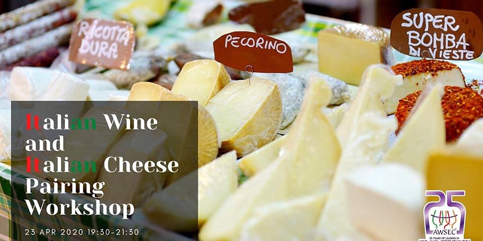 Italian Wine & Cheese Pairing Workshop