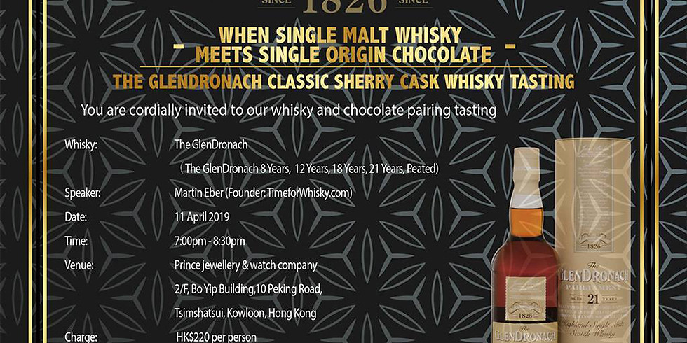 When Single Malt Whisky Meets Single Origin Chocolate