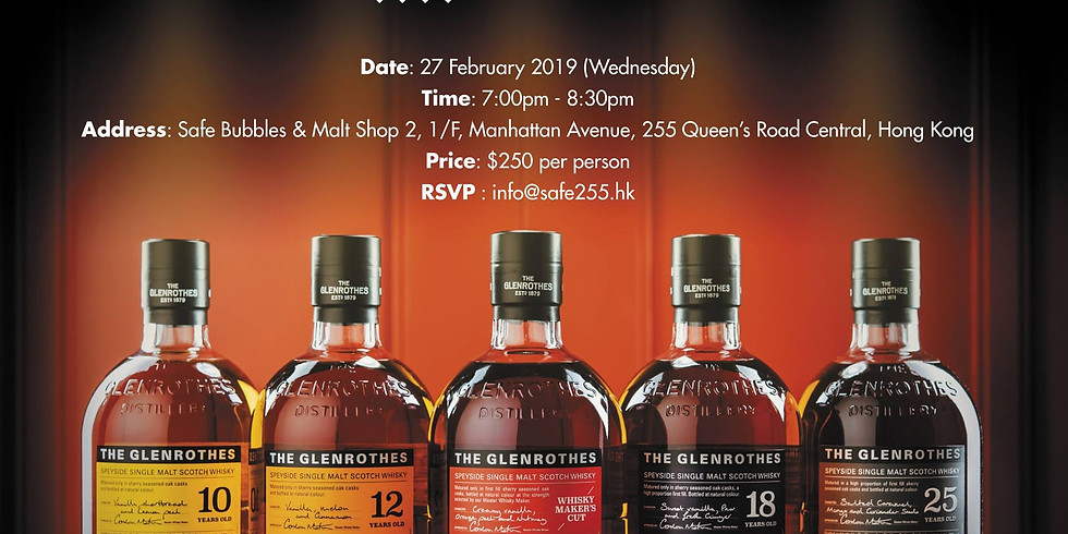 The Glenrothes Whisky Tasting
