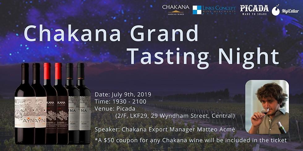 Chakana Grand Tasting Night