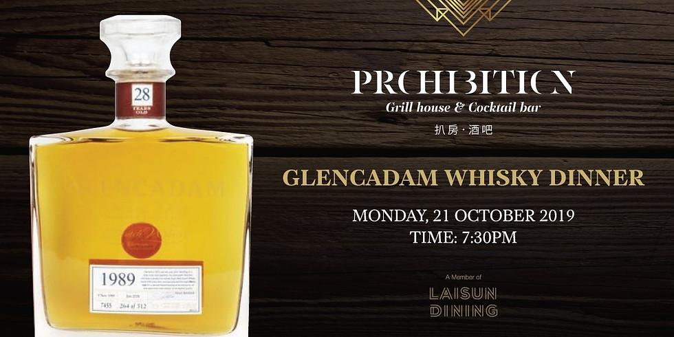 Sip, Savour & Indulge - Glencadam Whisky Dinner at Prohibition