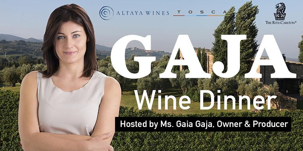 GAJA Wine Dinner at the Ritz-Carlton