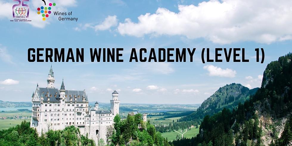 German Wine Academy (Level 1)