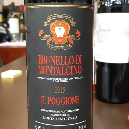 【CA酒評】IL Poggione Brunello Di Montalcino 2015
