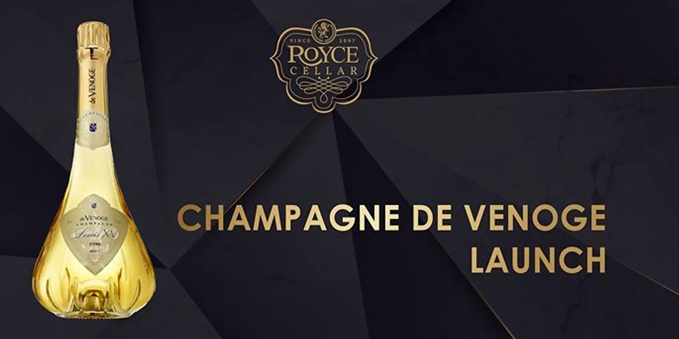 The Launch of Champagne De Venoge