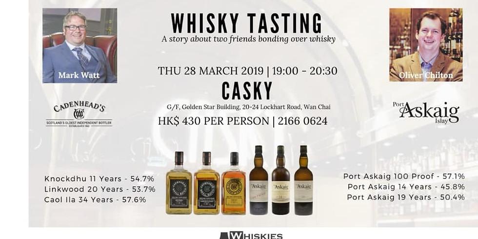 Cadenhead X Port Askaig tasting event