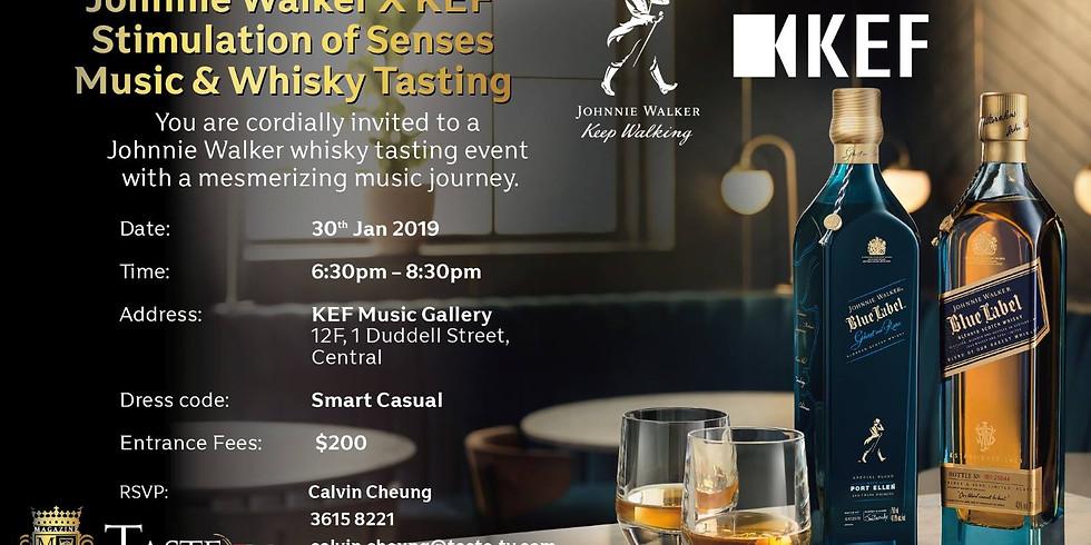 TasteTV presents KEF x Johnnie Walker Music & Whisky Tasting