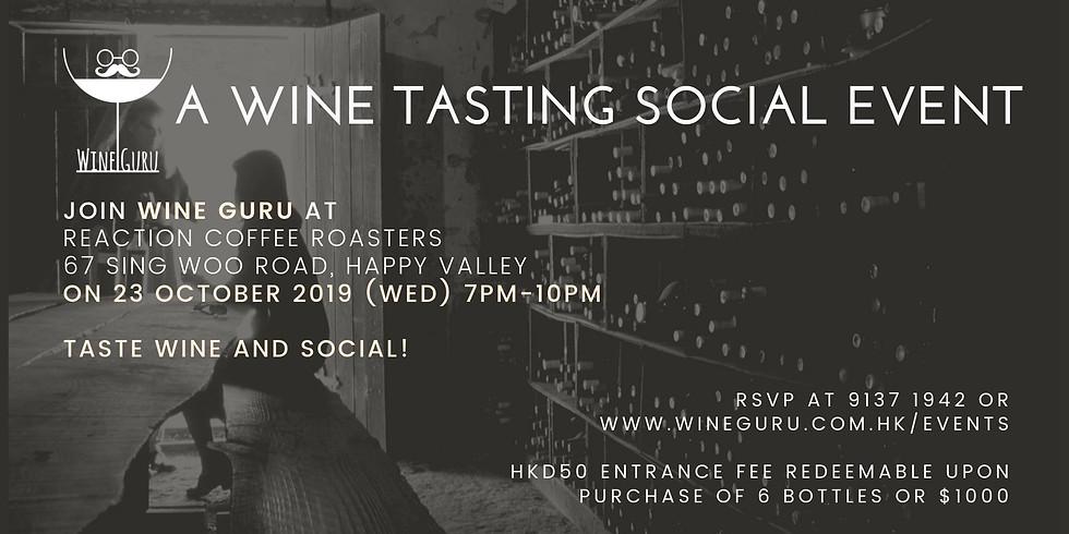 Wine Guru Wine Tasting Social Event