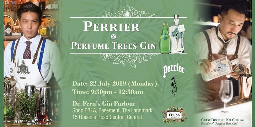 Perrier X Perfume Trees Gin @Dr. Fern's Gin Parlour