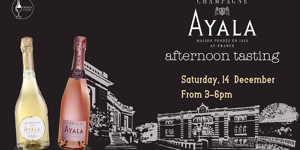 Champagne Ayala tasting