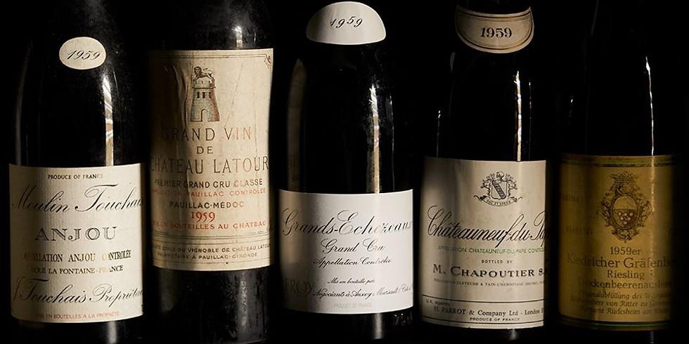 1959 Fine Wine Dinner - 60 Years On