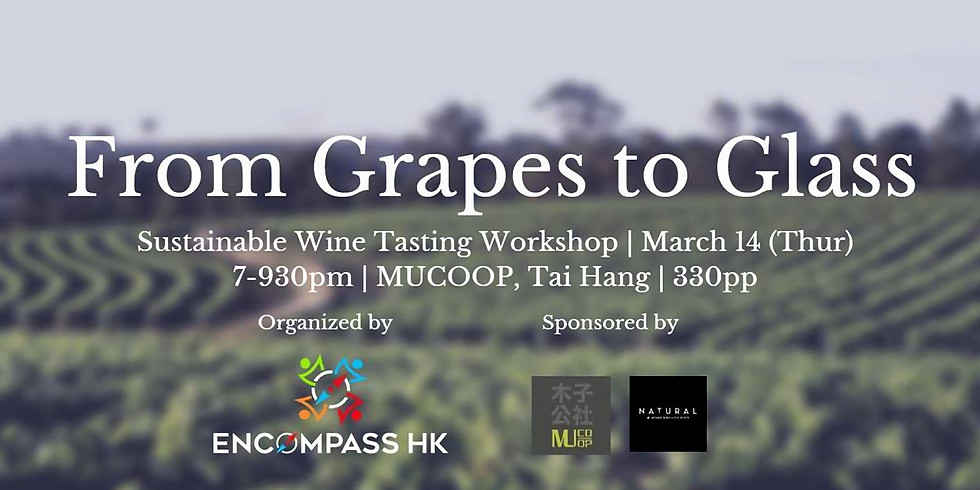 From Grapes to Glass - Sustainable Wine Tasting SDG workshop