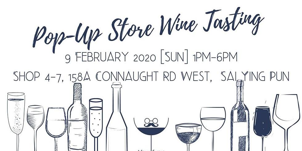 Wine Guru Pop-Up Store & Wine Tasting