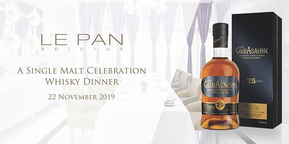 A Single Malt Celebration Whisky Dinner