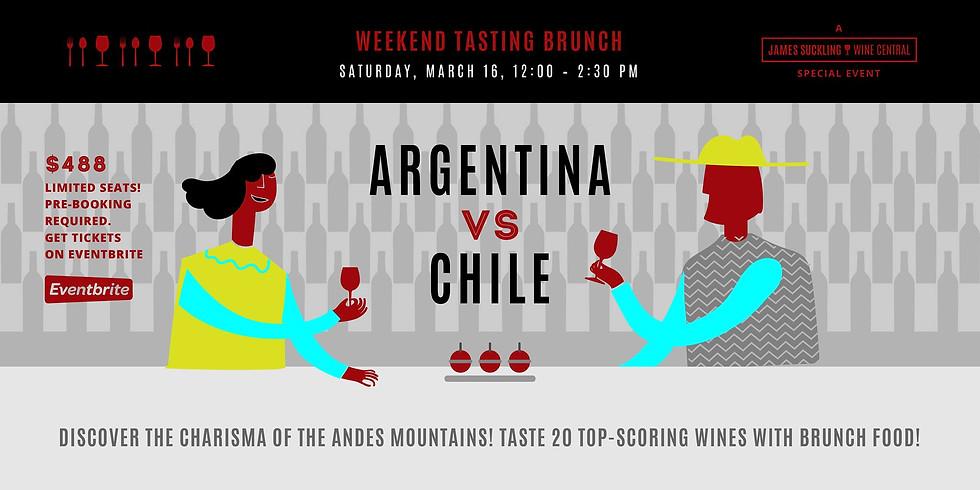 Argentina vs. Chile Weekend Tasting Brunch March 16