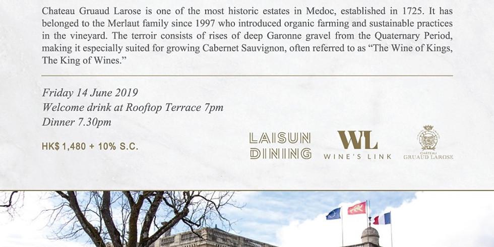 Gruaud Larose Wine Dinner at Beefbar