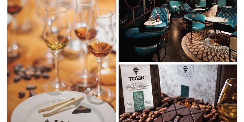 Premium Whisky & Rum x To'ak Chocolate Pairing Workshop
