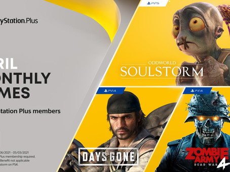 April 2021 PS Plus Games