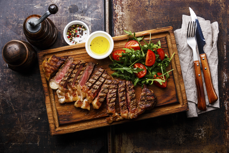 BBQ & Char-grilled menu
