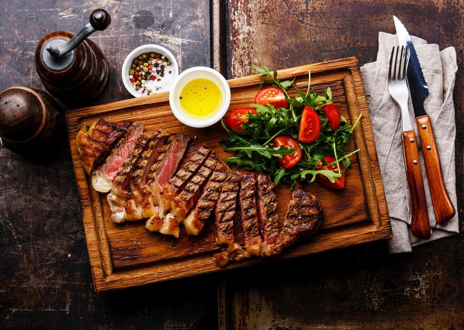 Fresh veggies and lean meats