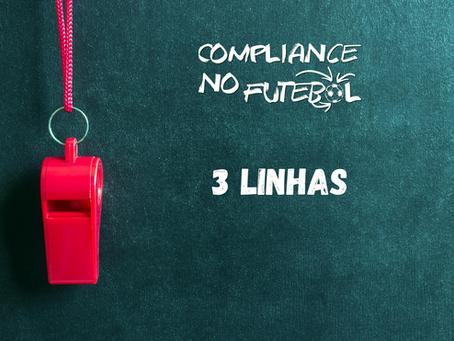 Compliance no Futebol: as Três Linhas (Três Linhas de Defesa)