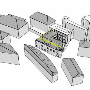 3D model pro posouzení osvětlení