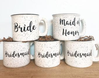 Bridal Coffee Cups