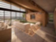 Diseño arquitectonico de cabaña