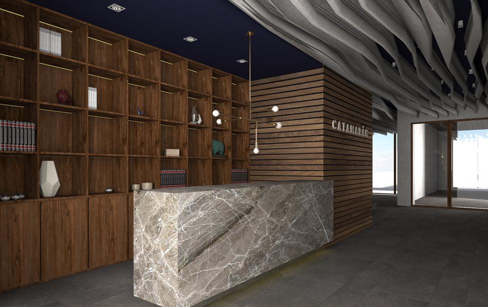 Lobby, Torre Catamarán